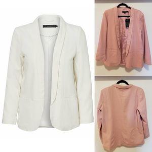 "NWT Vero Moda ""Vmasta Milo"" Pink Linen Blazer"